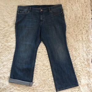 Old Navy the flirt below waist boot cut jeans
